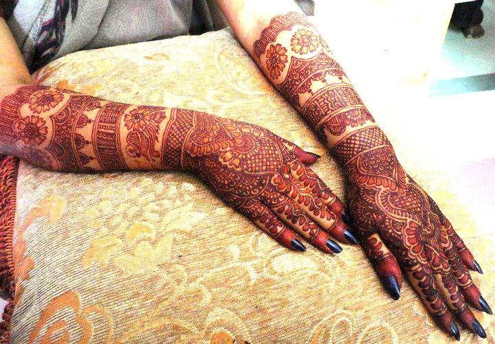 Bangle Mehndi Design