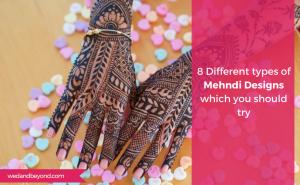 8 Different types of Mehndi Designs