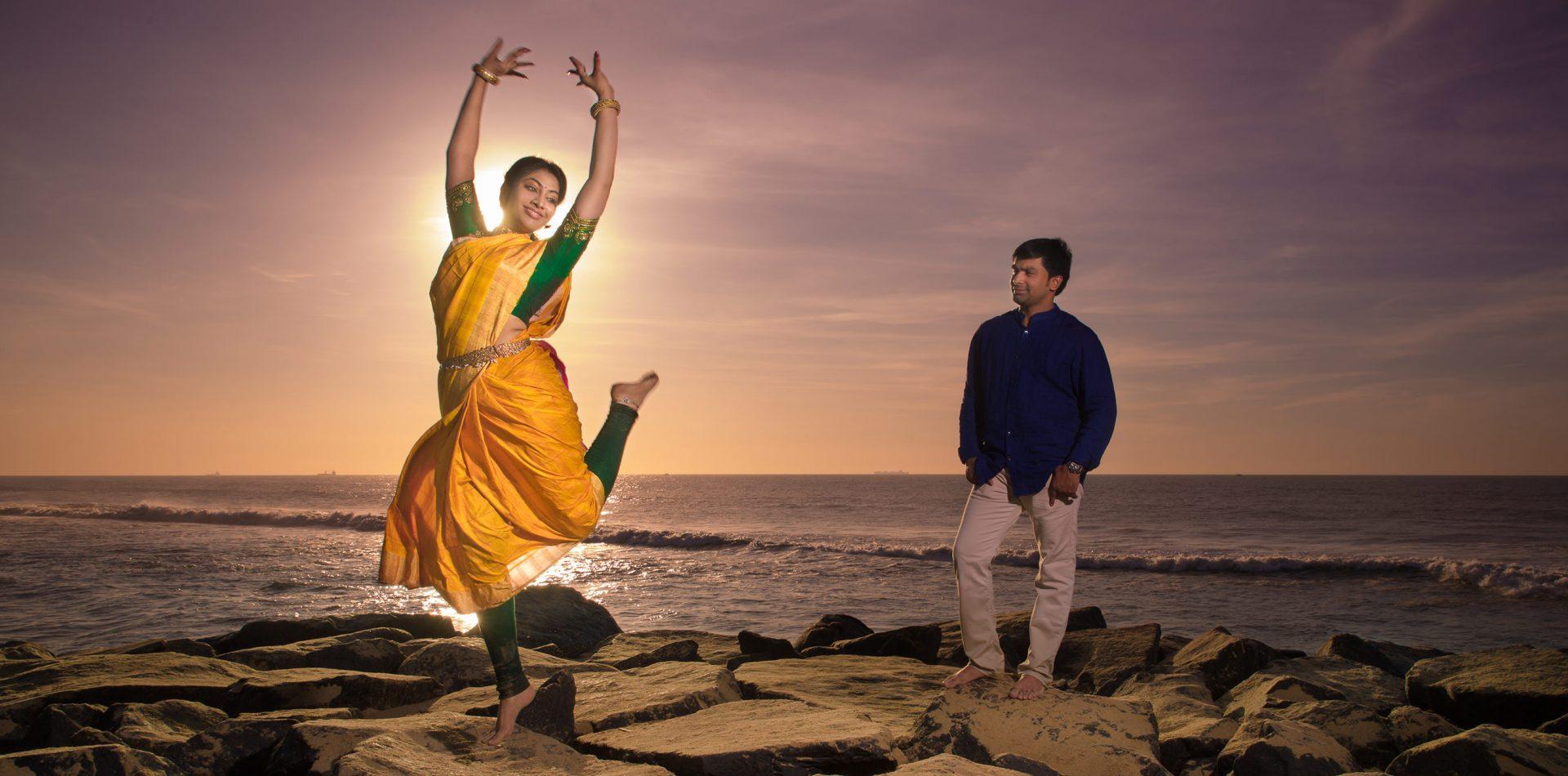 bharathanatiyam couple