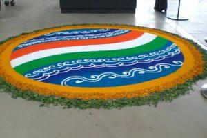 Independence day rangoli1