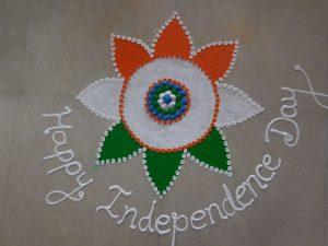 Independence day rangoli10