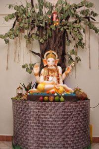 Yogi Ganesha in the Banyan Tree
