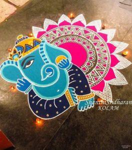 Ganesha with Laddoo