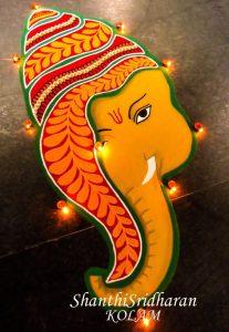 Modern art Ganesha