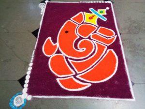 Orange Ganesha