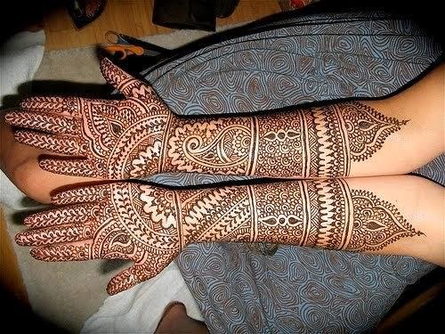 Simple Bridal Mehndi Designs Hd : Bridal mehndi designs for full hands and legs wedandbeyond