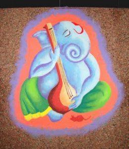 Ganesha singing song