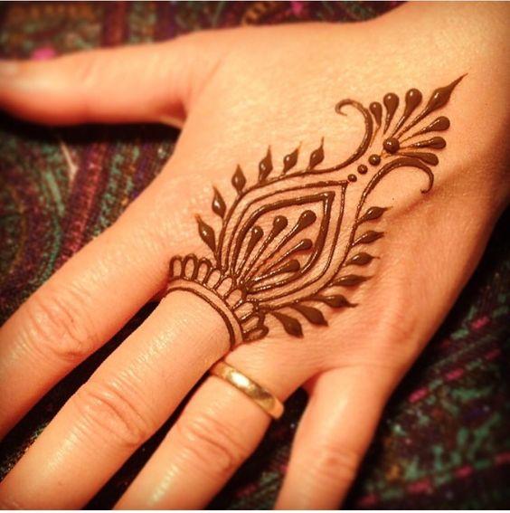 Henna Tattoo Drawings: 20 Elegant Modern Minimalist Henna Designs
