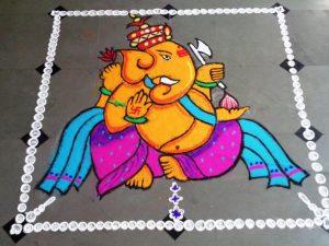 Ganesha with an axe