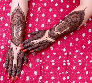41. Pakistani Bridal Mehndi