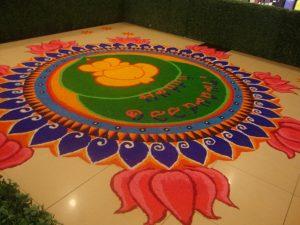 Ganesha in lotus