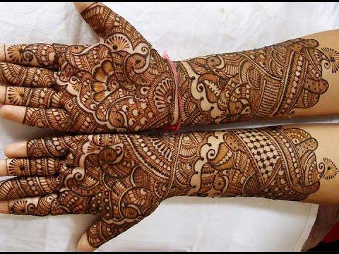 Bridal Mehndi : Bridal mehndi designs for full hands and legs wedandbeyond
