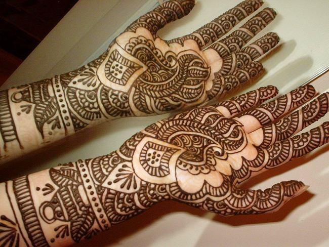 Mehndi Designs Punjabi : Trendy punjabi mehndi designs wedandbeyond