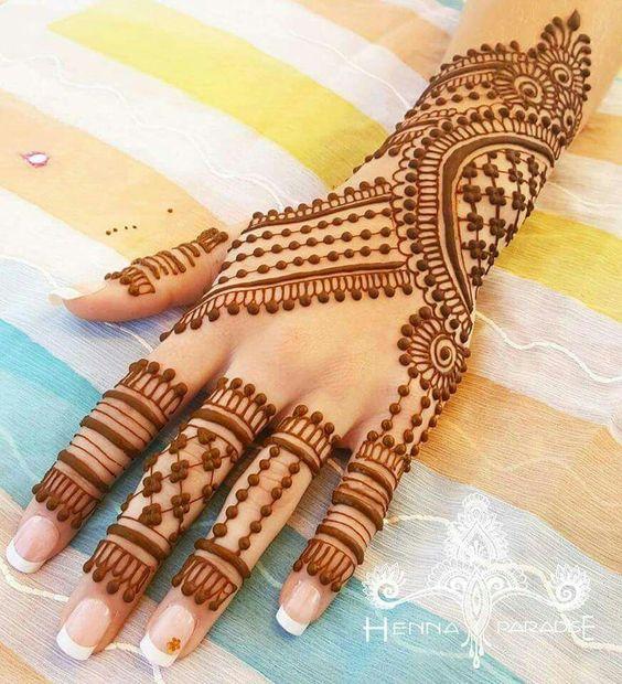 30 Trendy Punjabi Mehndi Designs Wedandbeyond