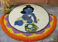 14. Baby Krishna pookolam