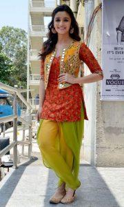 Modern Patiala Salwar with Stylish Upper jacket