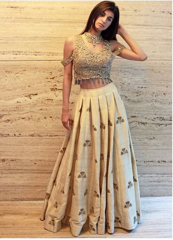 30. Double sleeve Lehnga Blouse