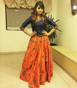 8. Full sleeve Lehnga Blouse