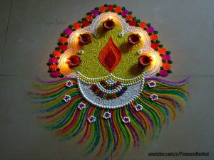 10.Blissful Rangoli