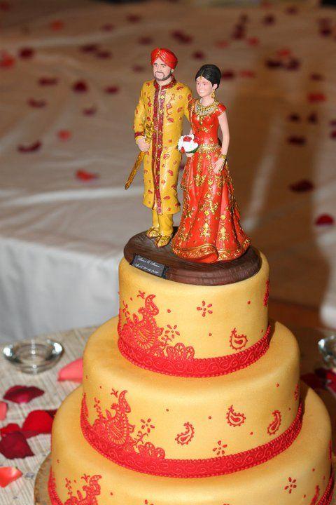 18.Singh inspiration wedding cake