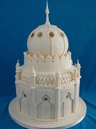 33.Tajmahal Inspiration Wedding cake