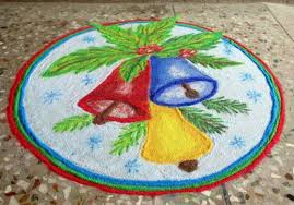 4.Three Bells Rangoli