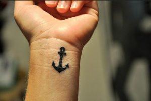 61.Anchor Tattoo
