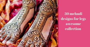 Round Flower Mehndi Designs : 30 back hand henna designs you should try wedandbeyond