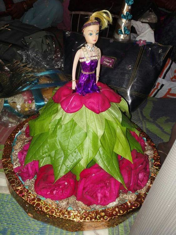 1.Betel leaf dress for Barbie