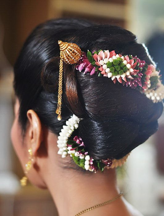 20 Indian Bridal Bun Hairstyle To Try For Your Wedding Wedandbeyond