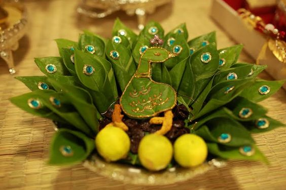 6.Glittering betel leaf decoration