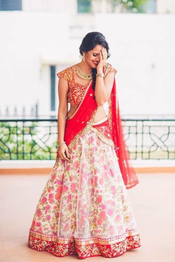 26.Red Bridal Lehnga