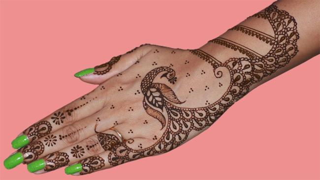 58.Beginners Peacock Henna