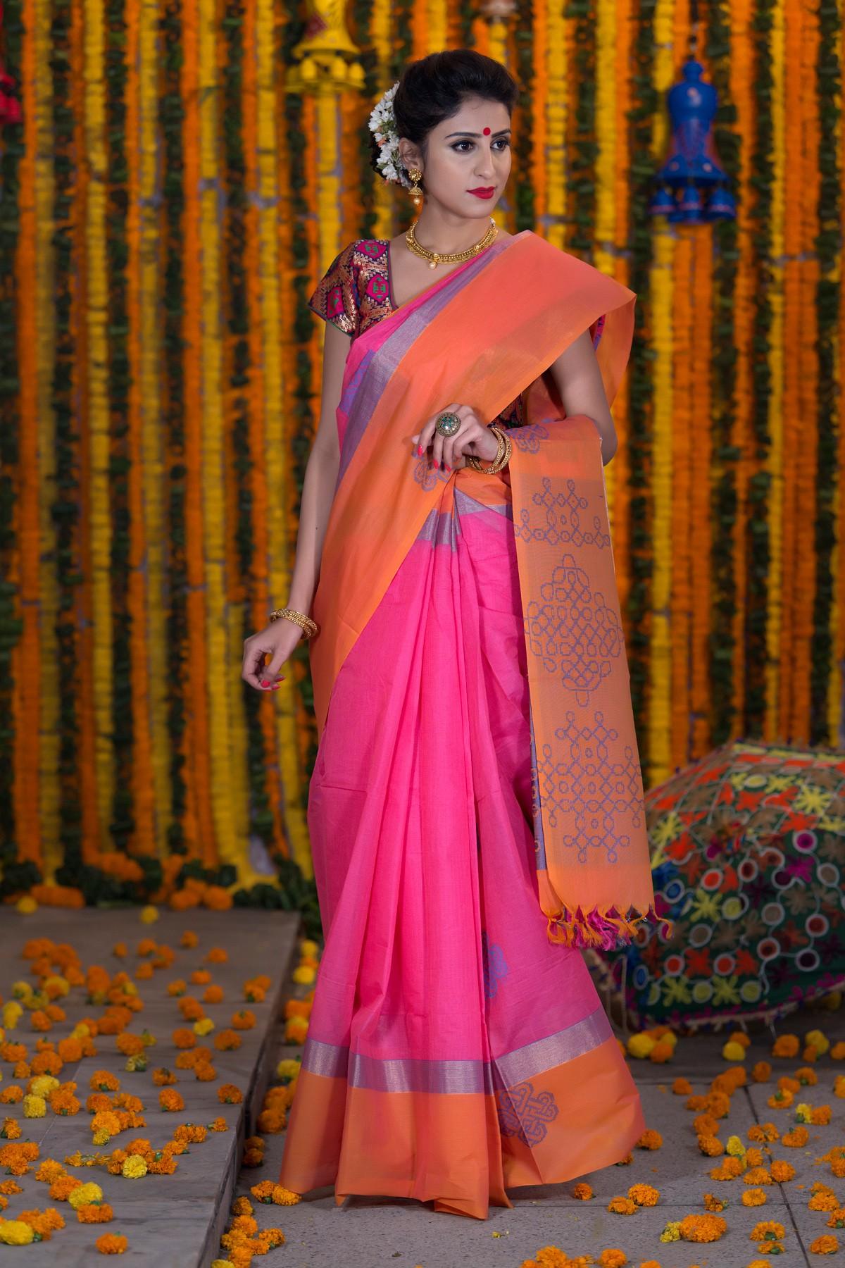 Bharathsthali saree1