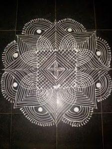 1.Mandala design #1