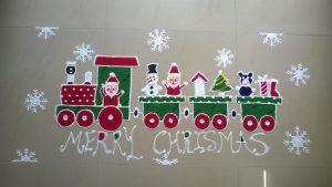 12.Merry Christmas train