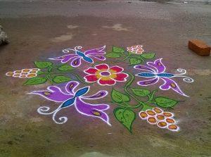 20.Margazhi Rangoli design #20