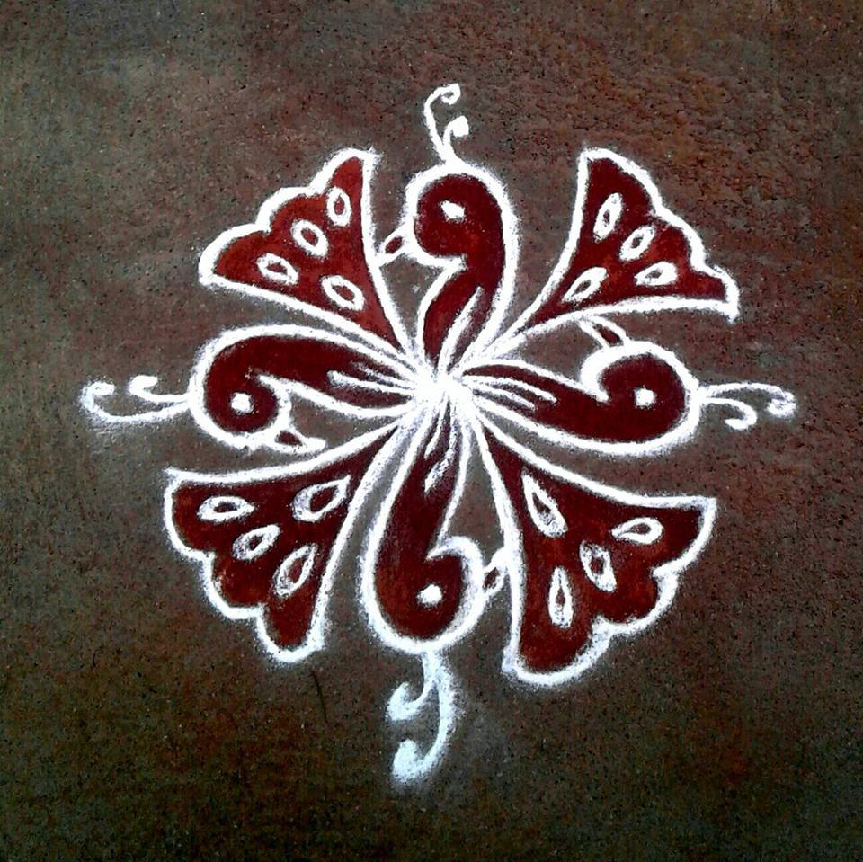 28.Margazhi Rangoli design #28