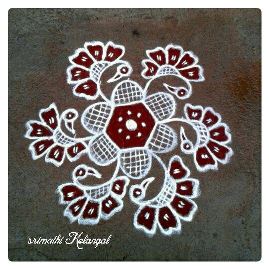 29.Margazhi Rangoli design #29