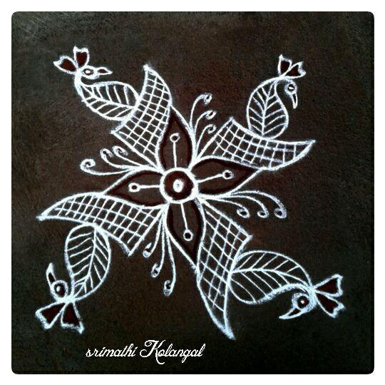 32.Margazhi Rangoli design #32
