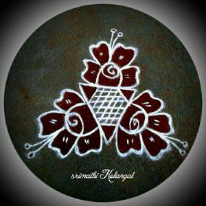 46.Margazhi Rangoli design #46