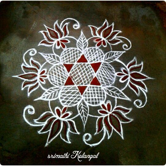 48.Margazhi Rangoli design #48