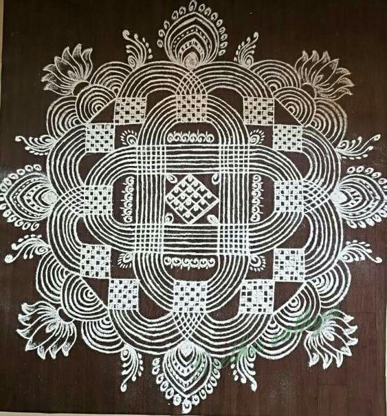 5.Mandala design #5