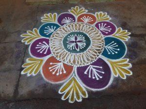 6.Margazhi Rangoli design 6