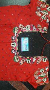 12.Musical instrument blouse #design 12