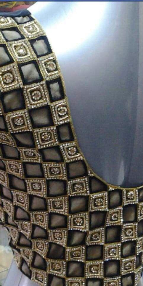 29.Check blouse design #29