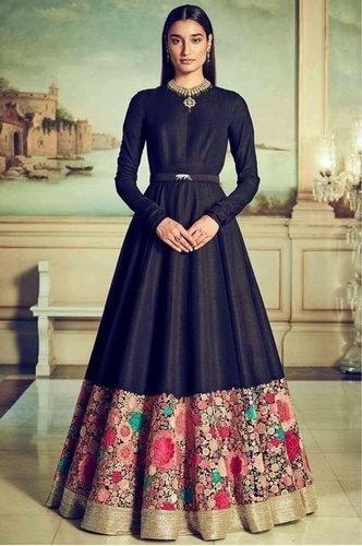 Satin fabrics Salwar Suits dress