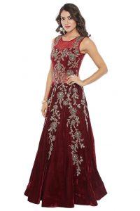 velvet fabrics Salwar Suits dress