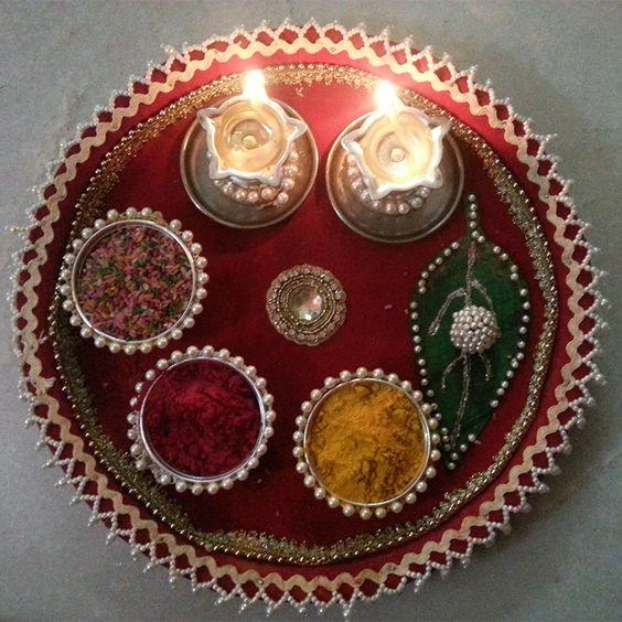 Wedding Aarthi Plate Decorations | Aarthi Plate Designs | Photo Gallery - Wedandbeyond.com & Wedding Aarthi Plate Decorations | Aarthi Plate Designs | Photo ...