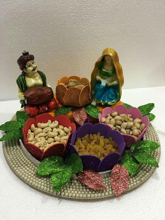 Dry Fruit Plate Decoration Dry Fruit Plate Decoration Designs